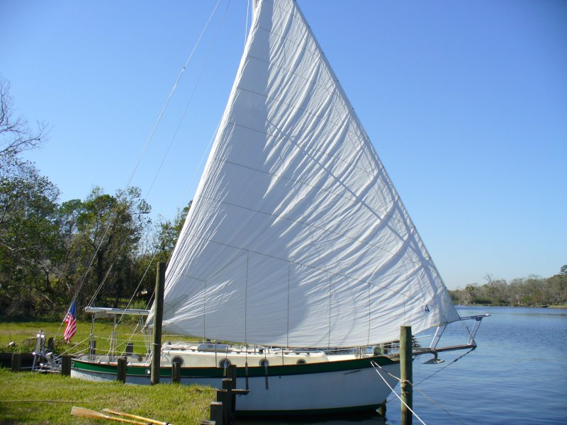 Westsail Owners Alliance Thread Quot Flying Flag From The